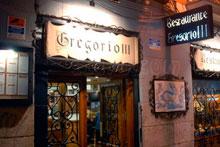 Restaurante Gregorio III